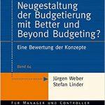 Fachbuch: Weber/Lindner -Neugestaltung der Budegetierung